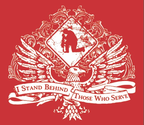 I Stand Behind T-shirt