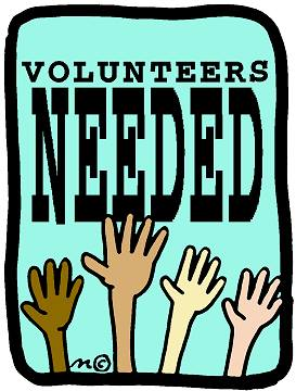 Volunteers Wanted for the Weekend of 6/22