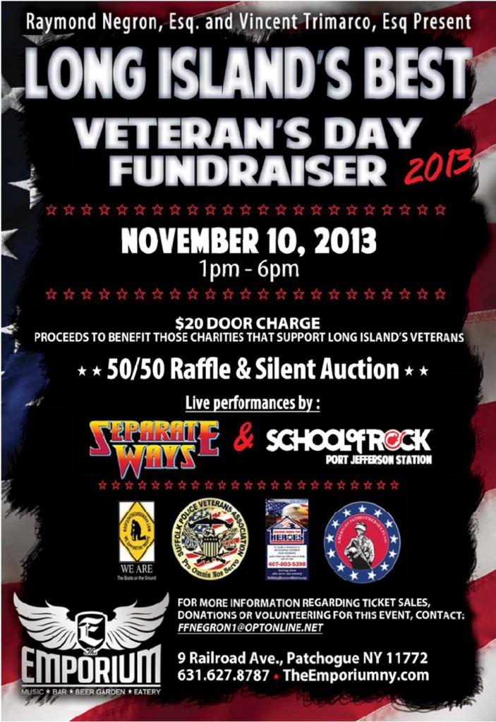 Emporium Veterans Day Benefit