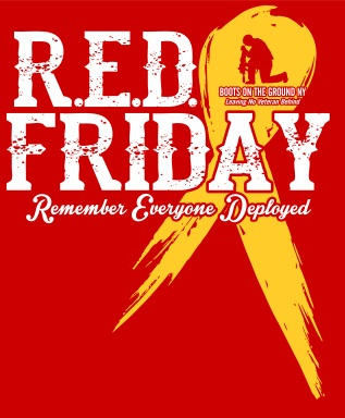Support the Troops – RED Friday