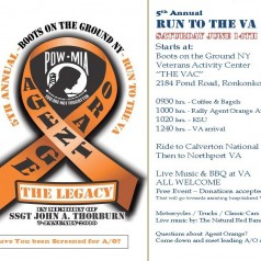 """Run to the VA"" – Agent Orange Rally & BBQ at the VA"