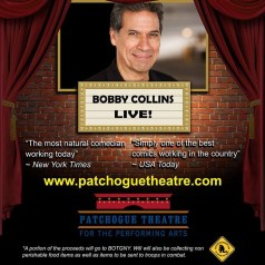 Comedy Show featuring Bobby Collins & Joe Mylonas to Support Our Troops!