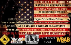 Military Care Package Donation Drive & Free Show this Sunday