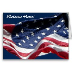 Military Welcome Home Greeting & Escort this Friday