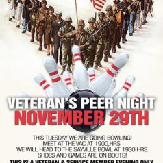 Lets go Bowling – veteran peer night outing