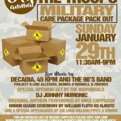 Supporting the Troops with us this Sunday?