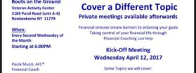 Free Financial Boot Camp Workshop